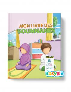 Mon livre des sounnanes 3-6 ans muslimkid easydin
