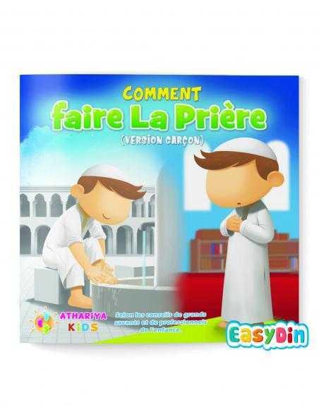apprendre à faire la prière version garçon athariya kids easydin