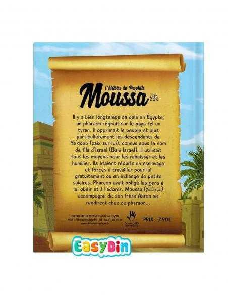 Resume de l'histoire prophete moussa 7 à 12 ans pour enfants