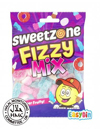 Bonbons halal fizzy mix sweetzone certifié HMC