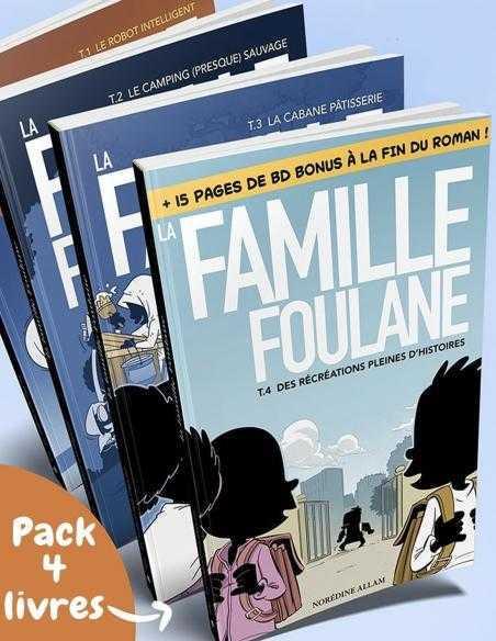 pack 4 livres famille foulane