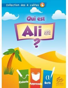 Coloriage: Qui est Ali? les 4 califes musulmans pour enfant