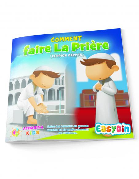 Apprendre a faire la prière en islam livre pour enfant