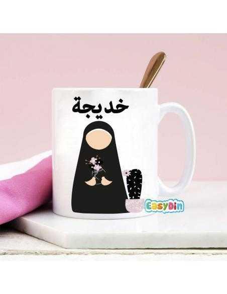 Mug personnalisé en arabe