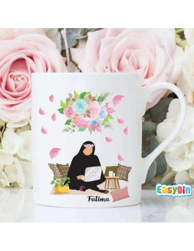 Mug soeur qui travail en islam cadeau musulman