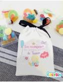 Pochette personnalisée fille garnis de bonbons