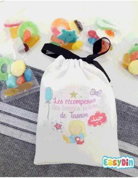 Vente de bonbons halal