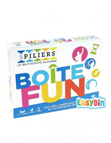 Boite Fun Box: Quiz et activités sur l'islam - (5 piliers)