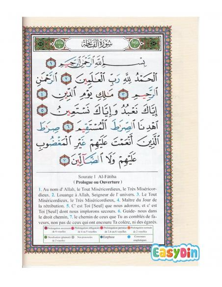 Coran tajwid traduction francais