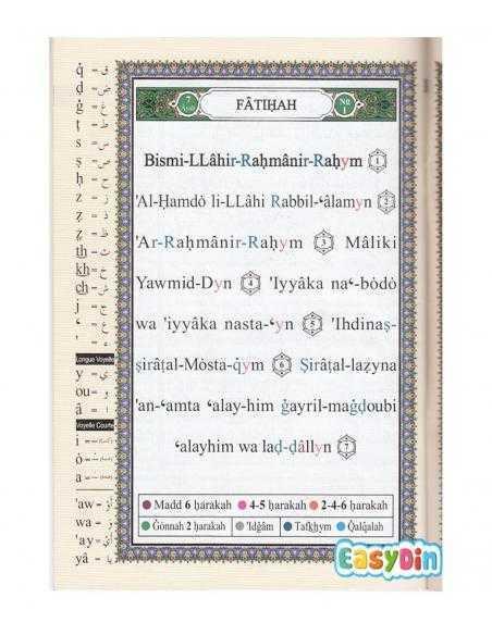 Coran Al-Tajwid en Arabe avec Traduction des Sens en Français - Juz 'Amma