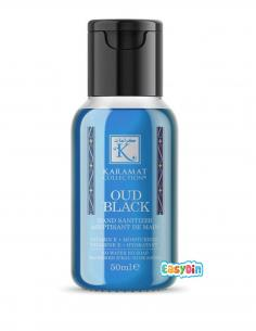 Gel Aseptisant Main au Oud Black - Karamat Collection