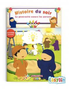 """Livre à raconter aux enfants La générosité envers les parents"""""""