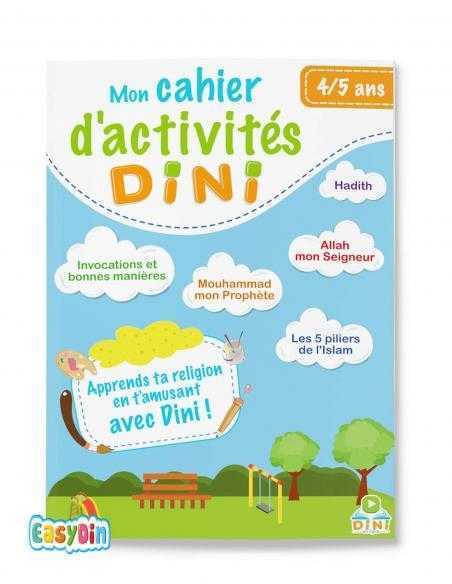 Mon cahier d'activités Dini 4-5ans