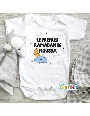 Body Bébé Le Premier Ramadan De à Personnaliser