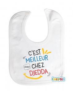 C'est meilleur chez Djedda bavoir bébé