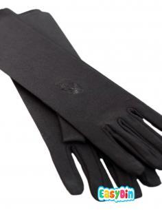 Gants noirs opaques femme