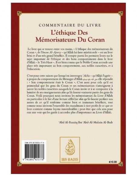 L'éthique des Mémorisateurs du Coran - Ibn Badis