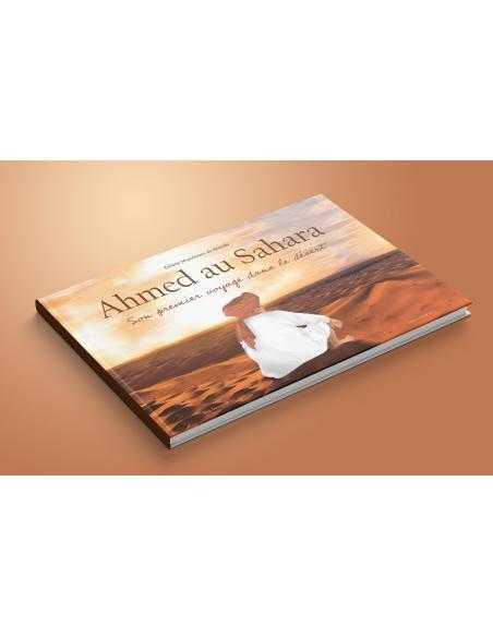 Ahmed au sahara - edition idrak - livre enfant