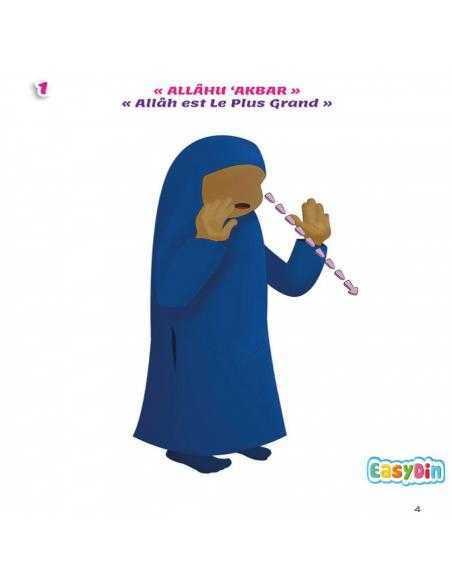 Mon livre de prière fille africaine