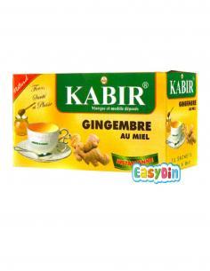 Infusion naturelle au gingembre et au miel, KABIR