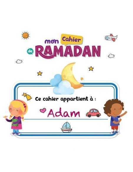 Mon cahier de ramadan learning roots 4 ans
