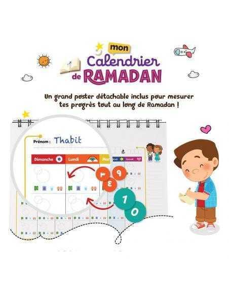 calendrier ramadan pour enfant