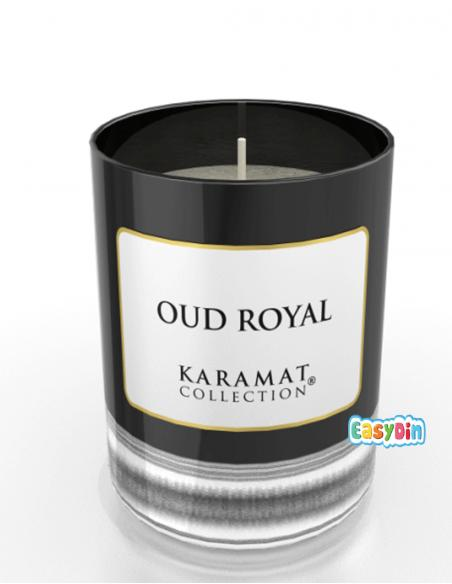 Bougie Parfumée Oud Royal - Karamat Collection