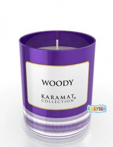 Bougie Parfumée Woody - Karamat Collection