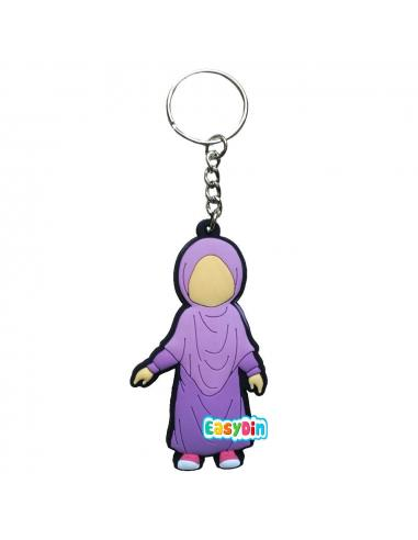 porte clés musulmane - muslimkid
