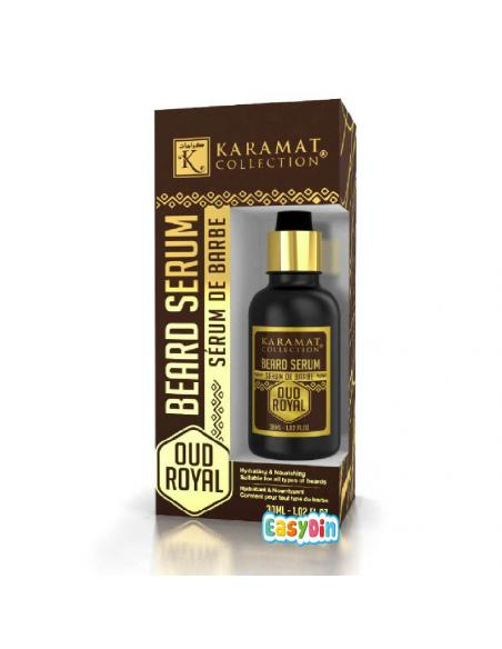 Oud Royal - serum pour la barbe - enrtretien - karamat collection