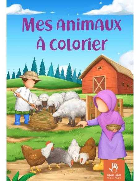 Mes animaux à colorier muslimkid