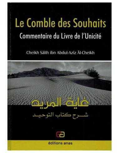 Le Comble Des Souhaits, Commentaire du Livre de l'Unicité