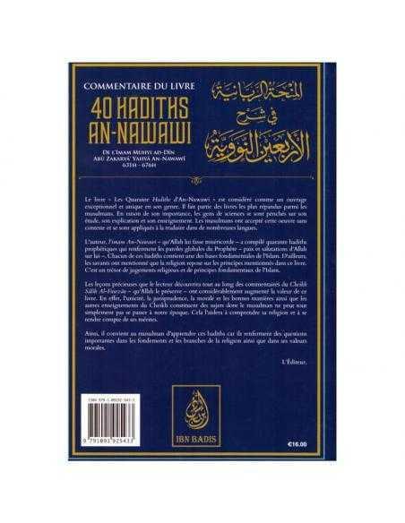 Commentaire du livre 40 40 hadiths An Nawawi - shikh al fawzan