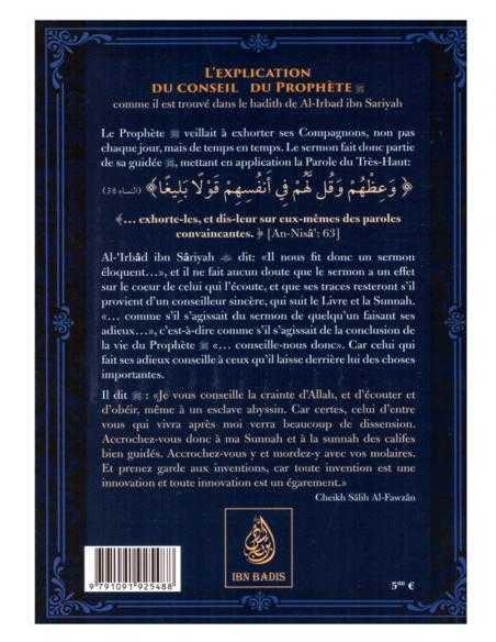 L'explication Du Conseil Du Prophète - Ibn Badis