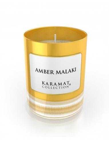 Bougie Parfumée Ambre Malaki - Karamat Collection
