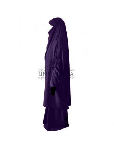 Jilbab Classique - Aubergine - Umm Hafsa