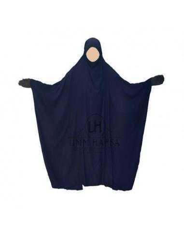 Jilbab Saoudien classique BLEU- Umm Hafsa