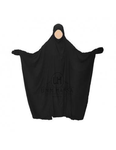 Jilbab Saoudien classique NOIR - Umm Hafsa