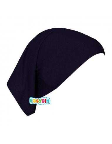 Bonnet Tube Noir - Sous Hijab