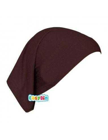 Bonnet Tube Marron - Sous Hijab