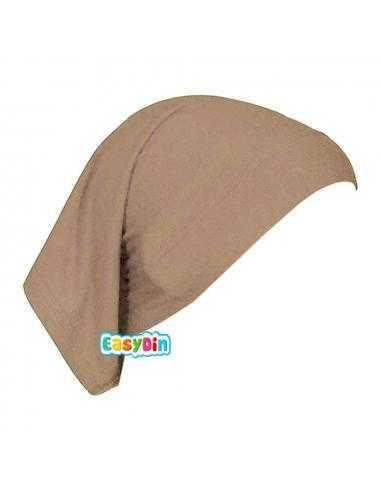 Bonnet Tube beige - Sous Hijab