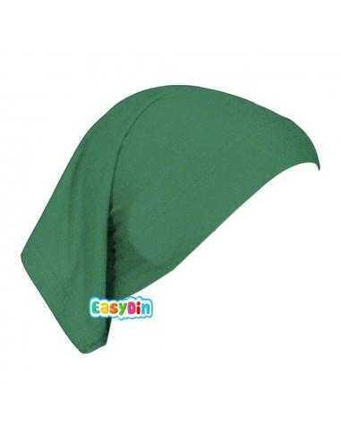 Bonnet Tube Vert Sapin - Sous Hijab