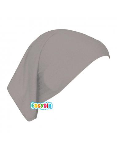 Bonnet Tube Gris - Sous Hijab