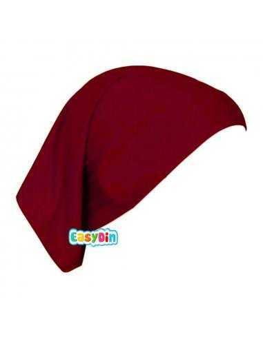 Bonnet Tube Rouge - Sous Hijab