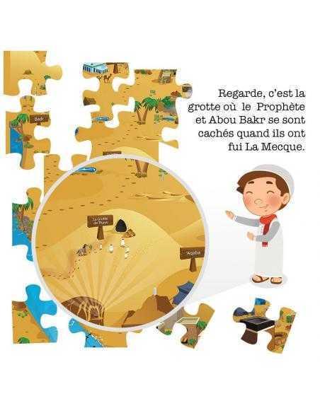 Puzzle enfant musulman