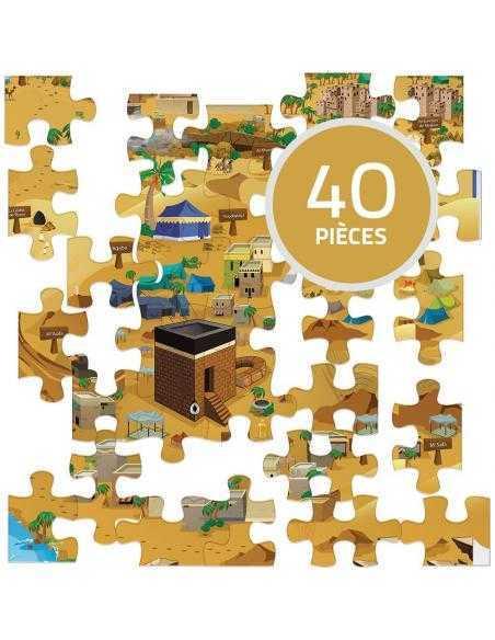 SUR LES TRACES DE MOHAMED - Puzzle learning roots