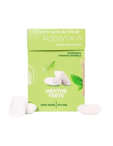 Chewing-gum au siwak et Menthe verte - Aswika