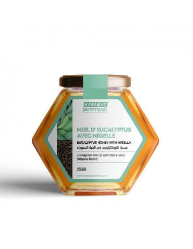 Miel d'Eucalyptus Avec Nigelle - Karamat