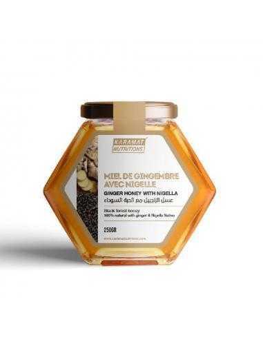 Miel de forêt Avec Gingembre et Nigelle