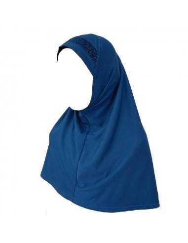 Hijab Enfant Bleu Marine